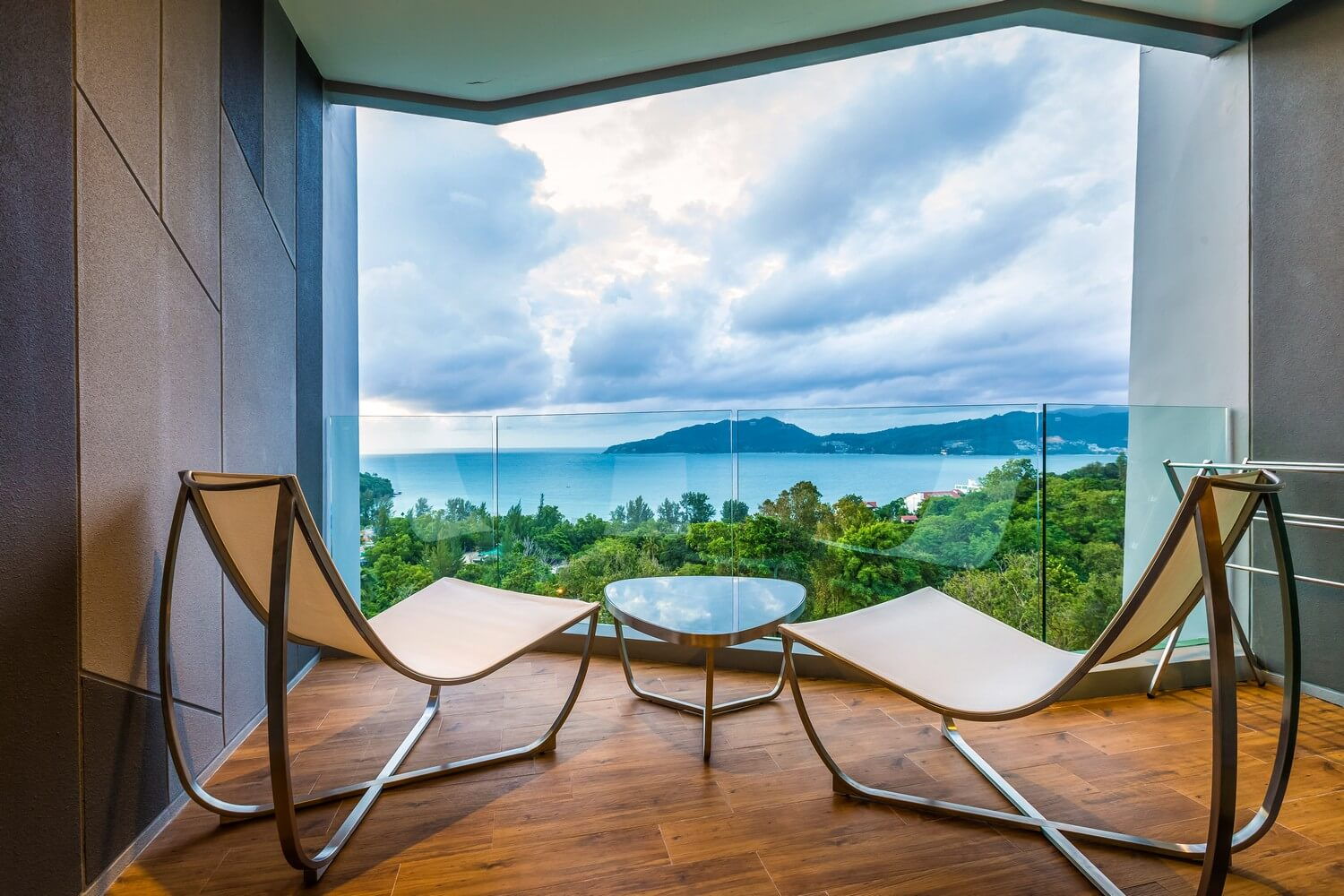 Tri Trang Best Sea View Deluxe Sea View Room Crest