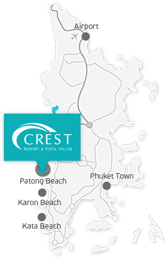 Crest Resort Map