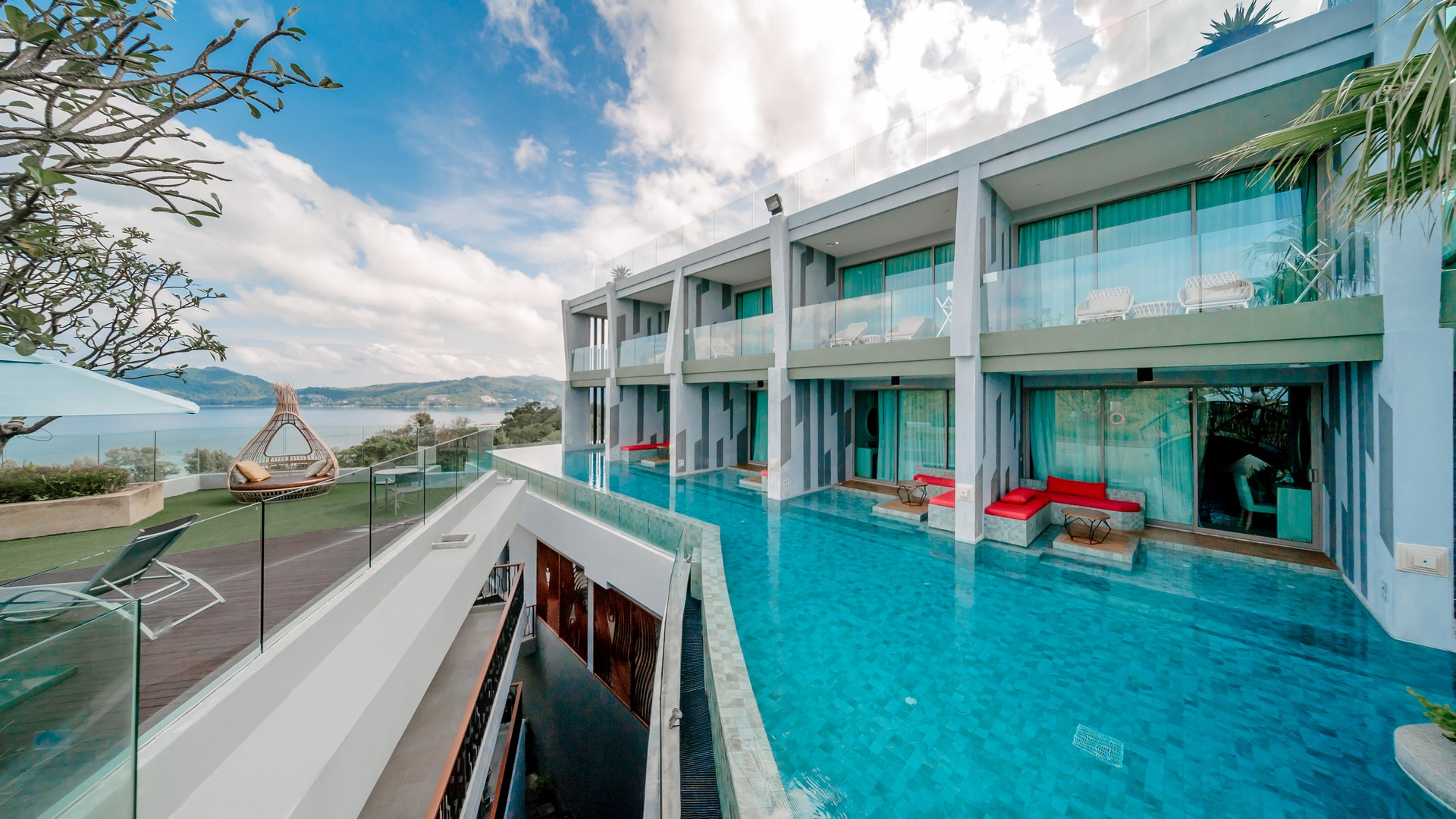 Deluxe Pool Access Sea View | Crest Resort & Pool Villas